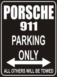 porsche-911-parking-only