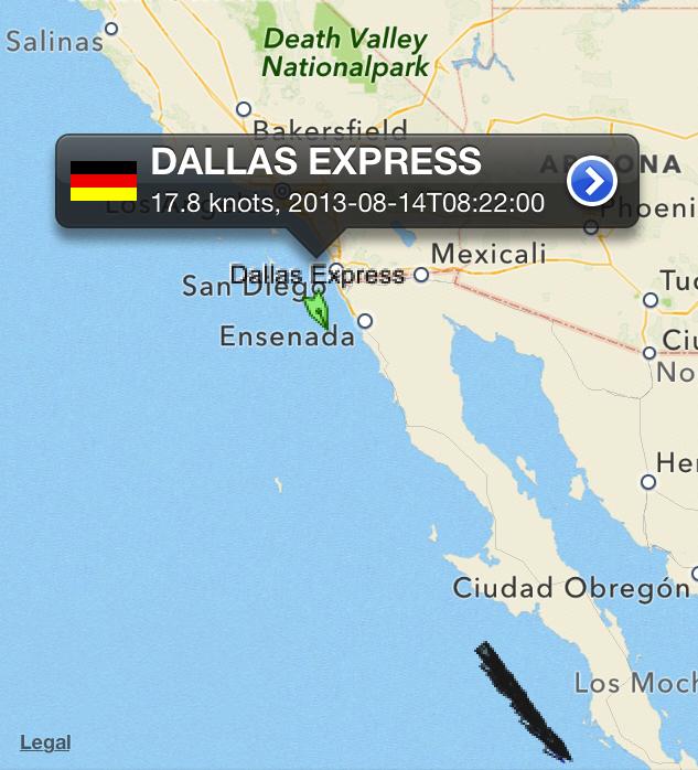 Dallas_Express_Abfahrt