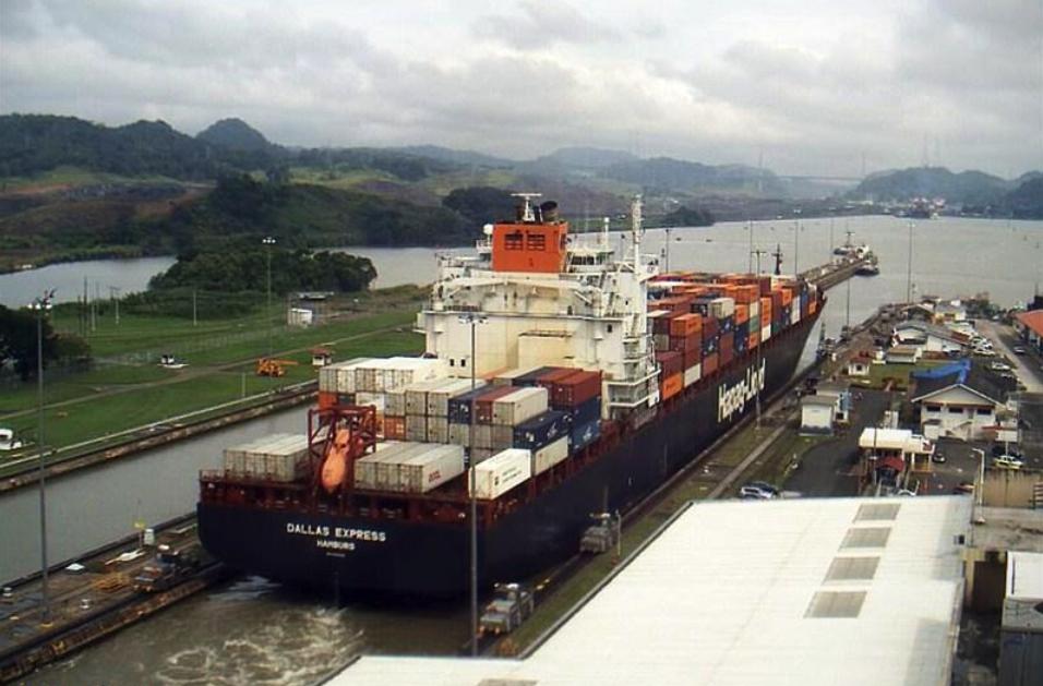 Dallas_Express_Panamakanal_Livebild