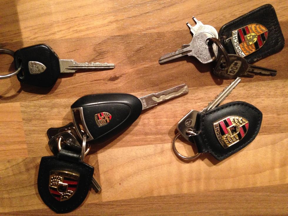 Die Schlüssel zum Glück...