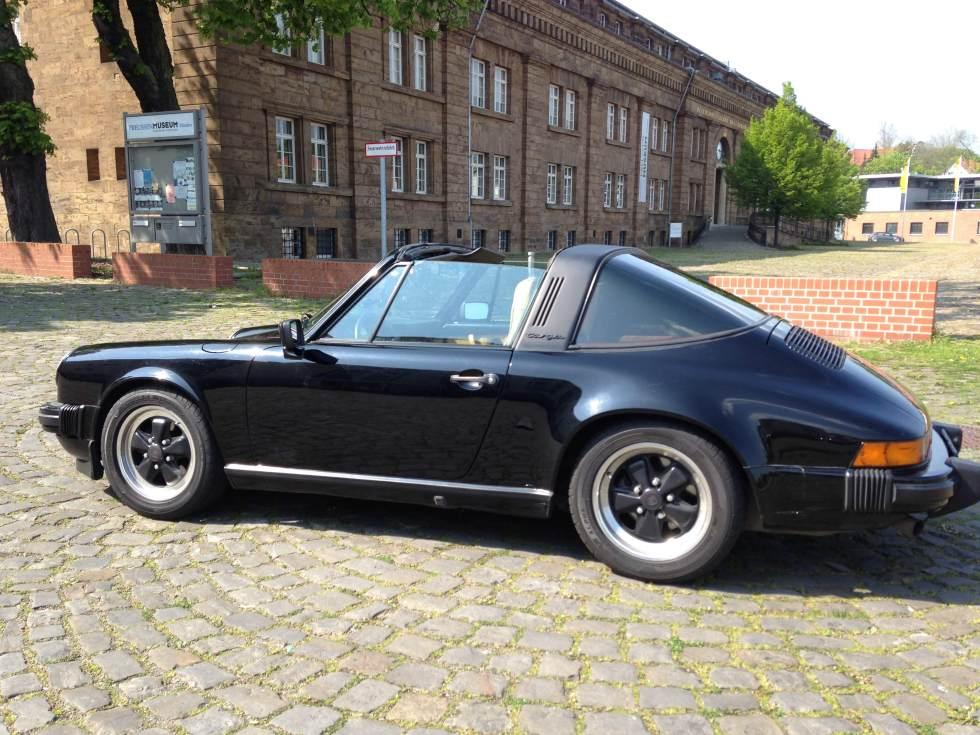 Der Targa heute nach dem Umbau auf deutsche Zulassungsvorschriften