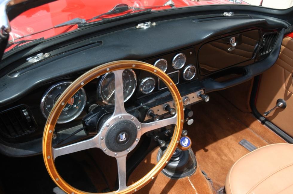 Das verführerische TR 4 Cockpit