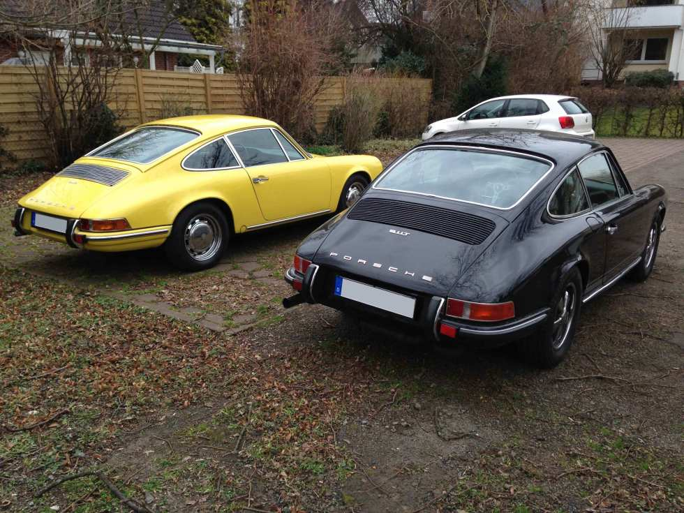 Das Ur-Elfer/ & -Zwölfer Porsche-Double