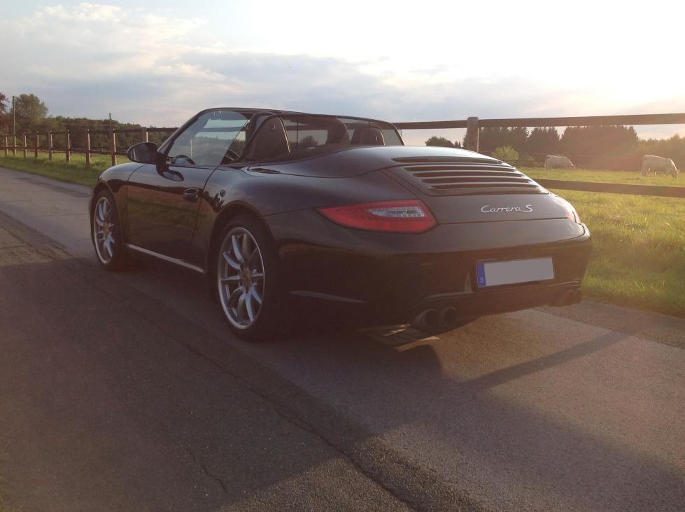 Mein Porsche Cabrio offen