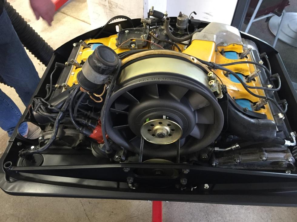 Mein Motor wird langsam aber stetig...